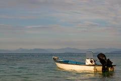 Barco asegurado Imagen de archivo