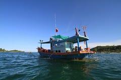 Barco asiático foto de stock