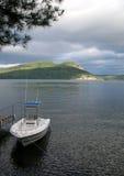 Barco atracado Imagenes de archivo