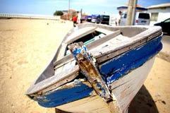 Barco azul Fotos de Stock Royalty Free