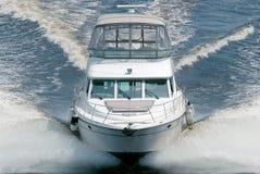 Barco blanco Imagen de archivo libre de regalías