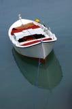 Barco blanco Imágenes de archivo libres de regalías
