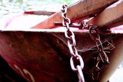 Barco bloqueado II fotos de archivo