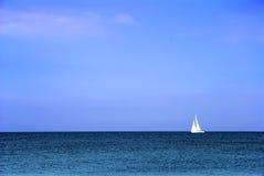 Barco branco Imagem de Stock