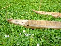 Barco cambojano velho Imagem de Stock Royalty Free