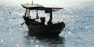 Barco camboyano Fotografía de archivo
