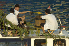 Barco carnival-5 de Belgrado fotos de stock