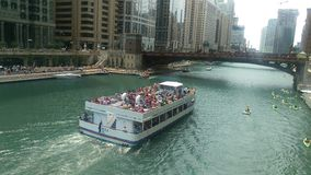 Barco Chicago fotografía de archivo libre de regalías