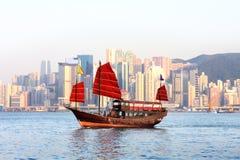 Barco chinês Foto de Stock Royalty Free