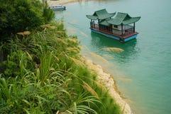 Barco chinês Imagem de Stock