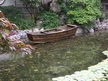 Barco chino Imagen de archivo libre de regalías