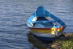 Barco colorido Fotografía de archivo libre de regalías