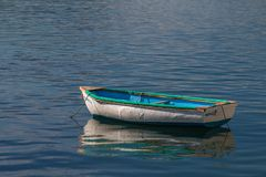Barco colorido na baía de Marmaris Fotos de Stock