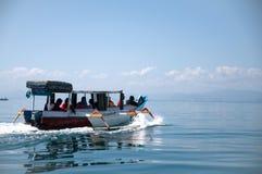 Barco como o transporte Foto de Stock