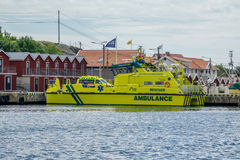 Barco da ambulância Imagem de Stock