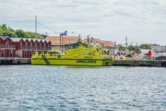 Barco da ambulância Imagens de Stock