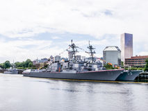 Barco da Armada Foto de Stock