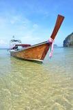 Barco da cauda longa Imagem de Stock Royalty Free