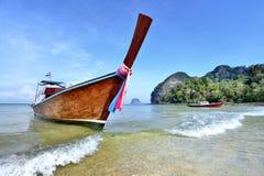 Barco da cauda longa Imagens de Stock