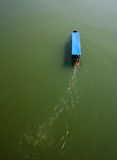 Barco da cauda longa Foto de Stock Royalty Free