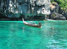 Barco da cauda longa Imagem de Stock