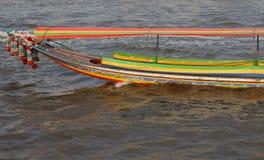 Barco da cauda longa no chao Phraya River Imagens de Stock Royalty Free