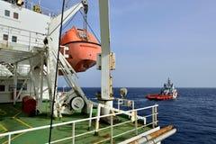 Barco da evacuação Imagem de Stock Royalty Free
