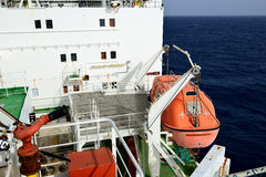 Barco da evacuação Foto de Stock Royalty Free