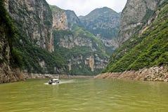 Barco da excursão na China Central Fotografia de Stock
