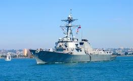 Barco da marinha Fotografia de Stock Royalty Free