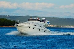 Barco da potência Foto de Stock Royalty Free