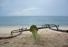 Barco da praia Fotografia de Stock Royalty Free