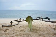 Barco da praia fotos de stock royalty free