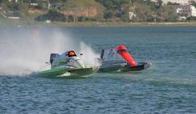 Barco da raça foto de stock