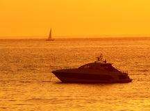 Barco da velocidade Foto de Stock