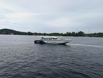 Barco da velocidade foto de stock royalty free