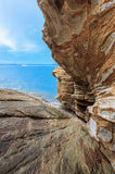 Barco da velocidade no mar Imagem de Stock Royalty Free