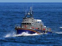 Barco de alta velocidad en el mar foto de archivo libre de regalías