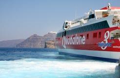 Barco de alta velocidade Imagens de Stock