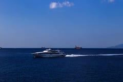 Barco de alta velocidade Fotografia de Stock Royalty Free