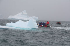 Barco de aterragem polar imagem de stock royalty free