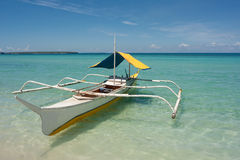 Barco de Balangay Foto de Stock