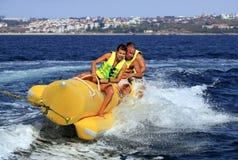 Barco de banana foto de stock royalty free