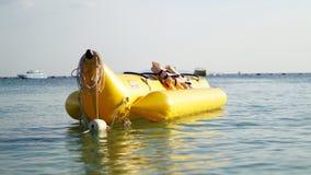 Barco de banana Fotografia de Stock