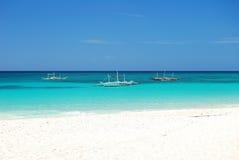 Barco de Boracay Foto de Stock