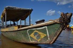 Barco de Brasileirinha Imágenes de archivo libres de regalías