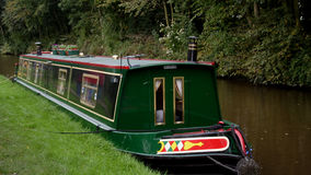 Barco de canal Foto de Stock