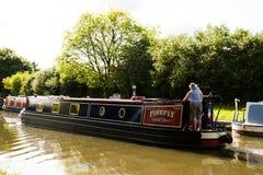 Barco de canal de Willington Imagem de Stock Royalty Free