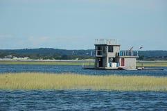 Barco de casa Foto de archivo libre de regalías