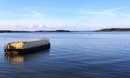 Barco de casa Imágenes de archivo libres de regalías